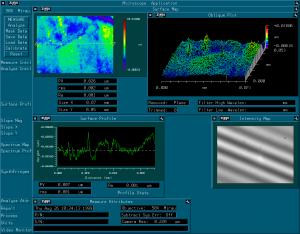 Polishing sample from Zygo interferometer